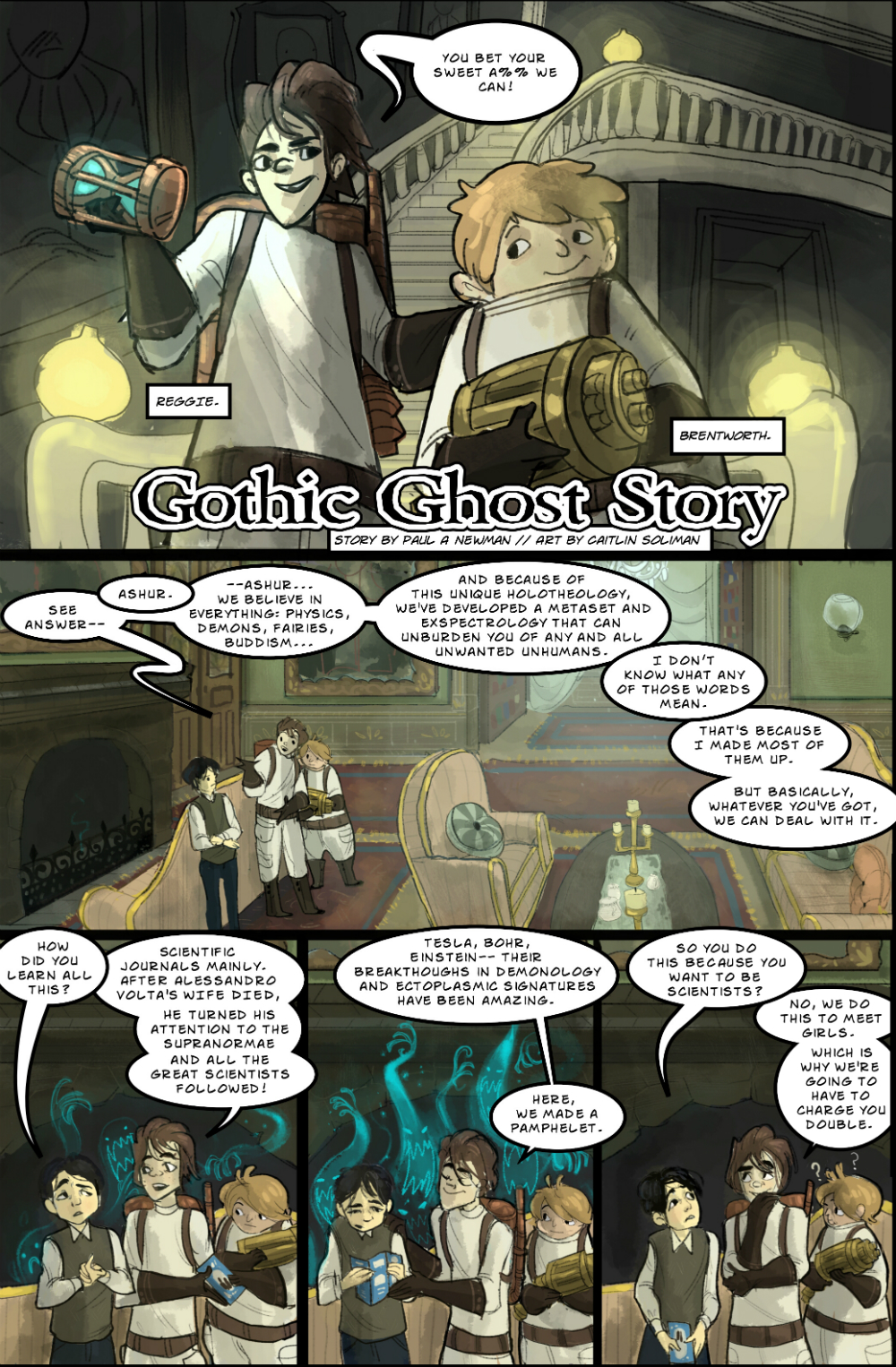 Gothic Ghost Story page 2