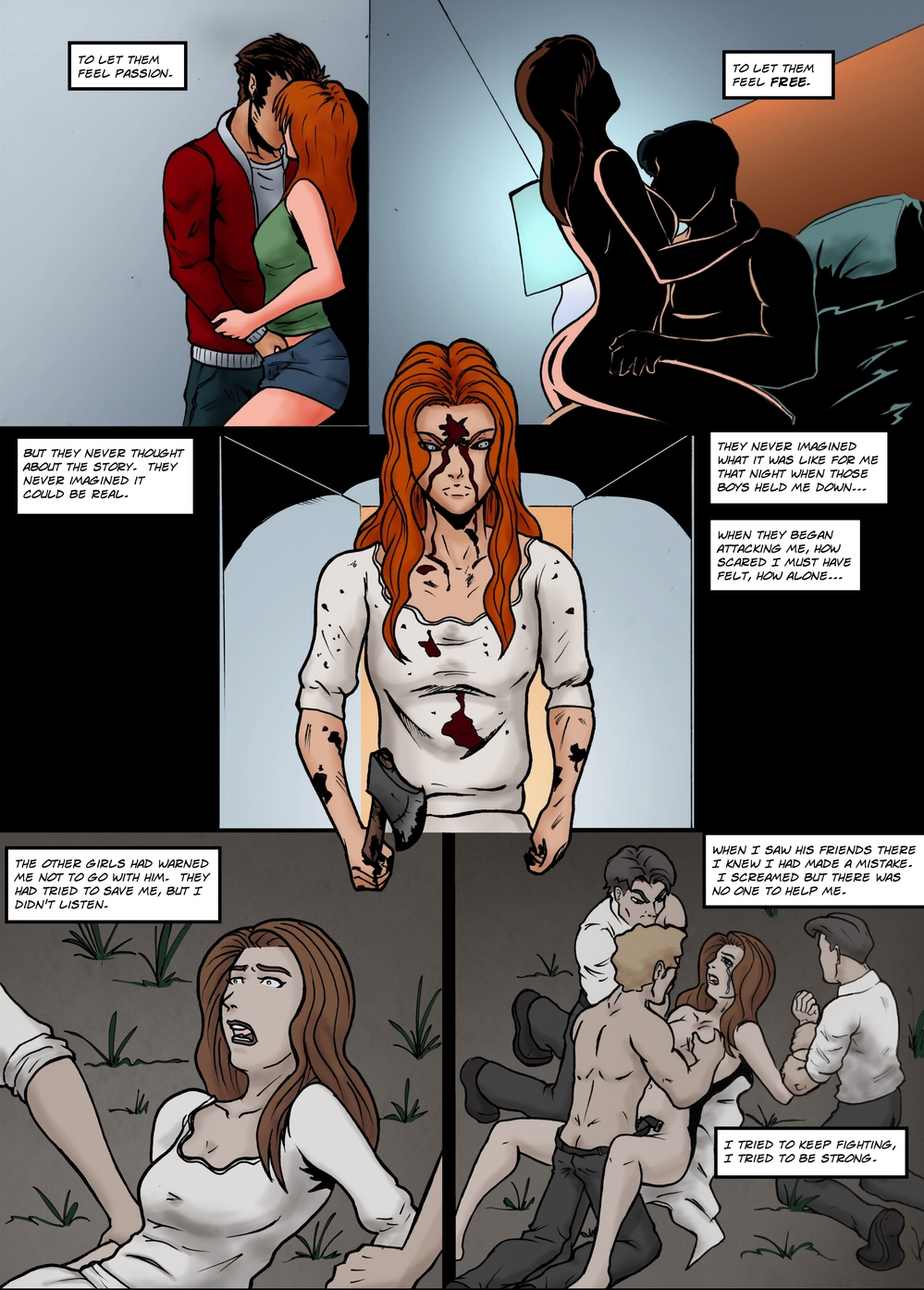 BLOODY MARY page 4 -- story 25 in The Book of Lies