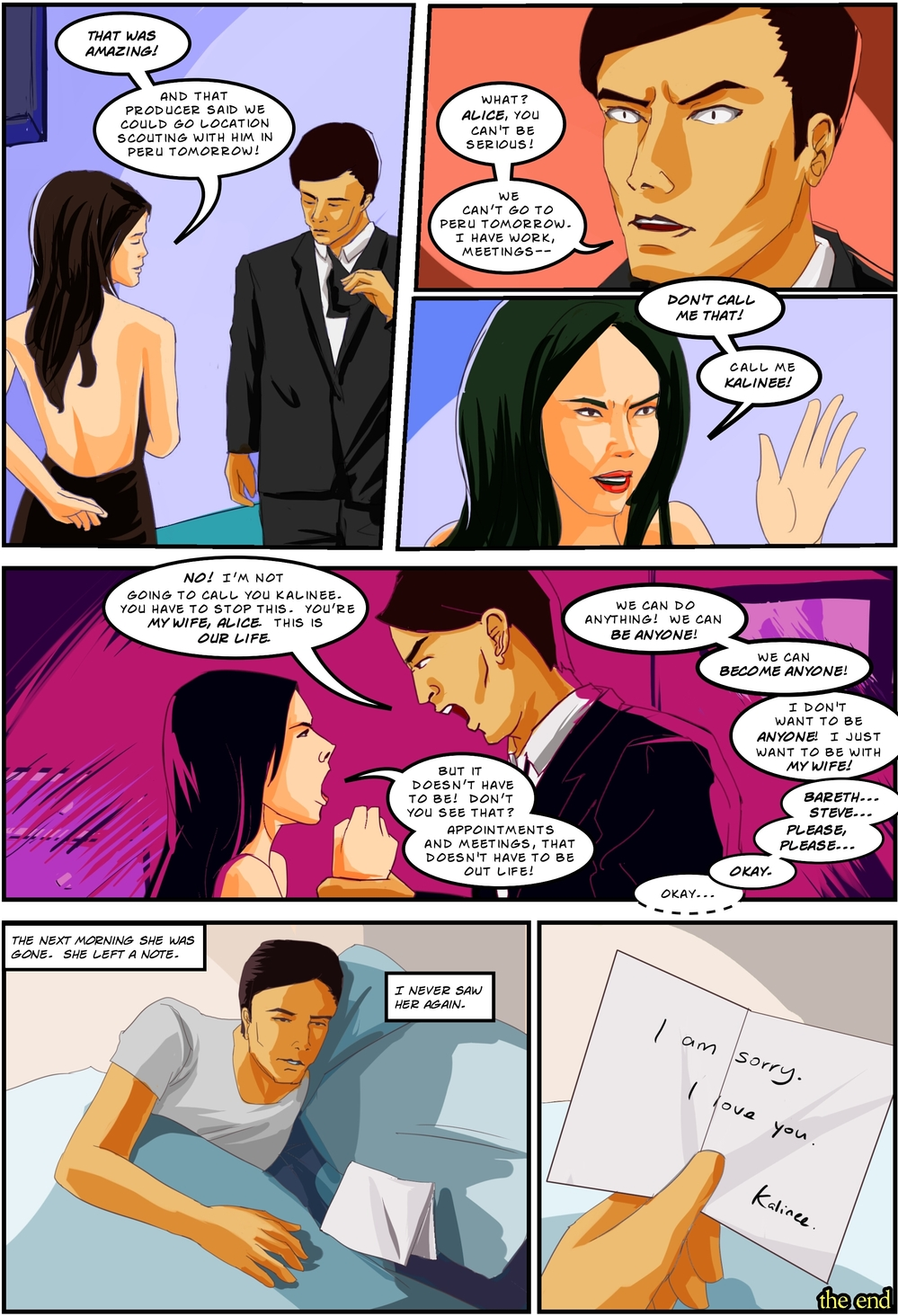 BEING OTHER PEOPLE page 6 -- story 26 in The Book of Lies