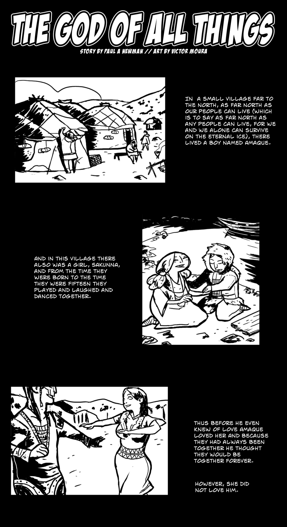 God of All Things pg 2 -- from THE BOOK OF LIES