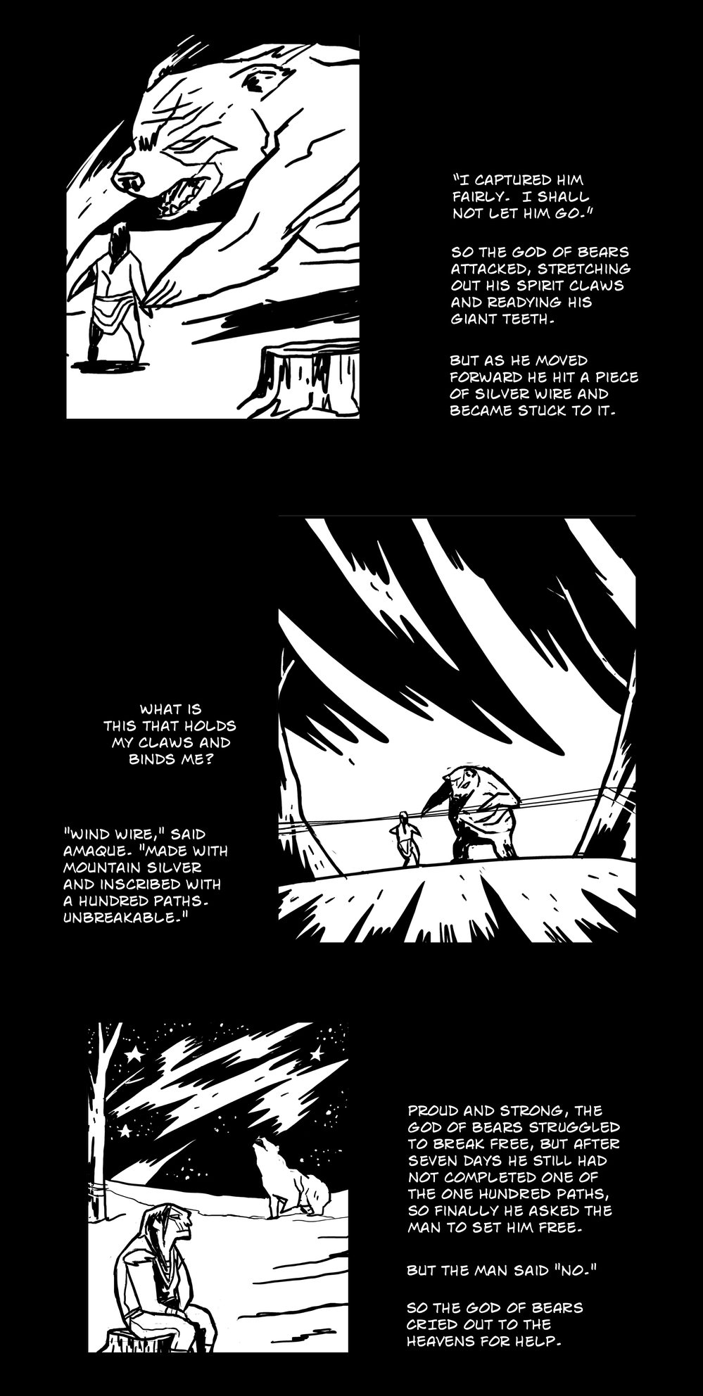 God of All Things pg 6 -- from THE BOOK OF LIES