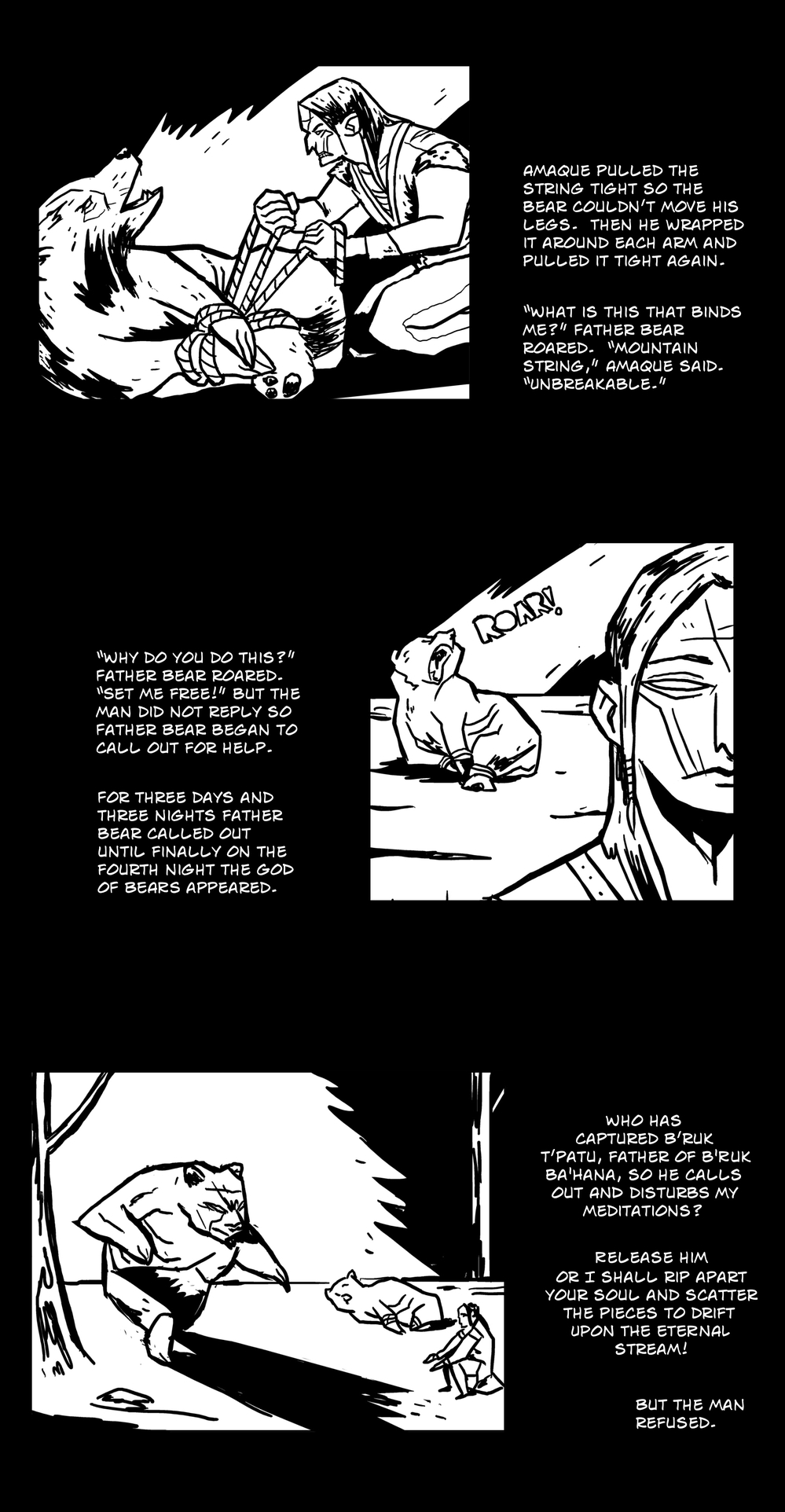 God of All Things pg 5 -- from THE BOOK OF LIES