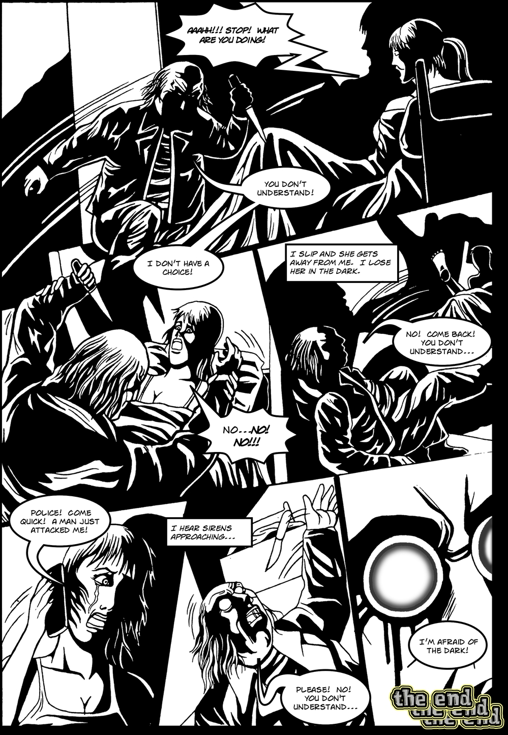 EYES page 6 - story 2 in The Book of Lies