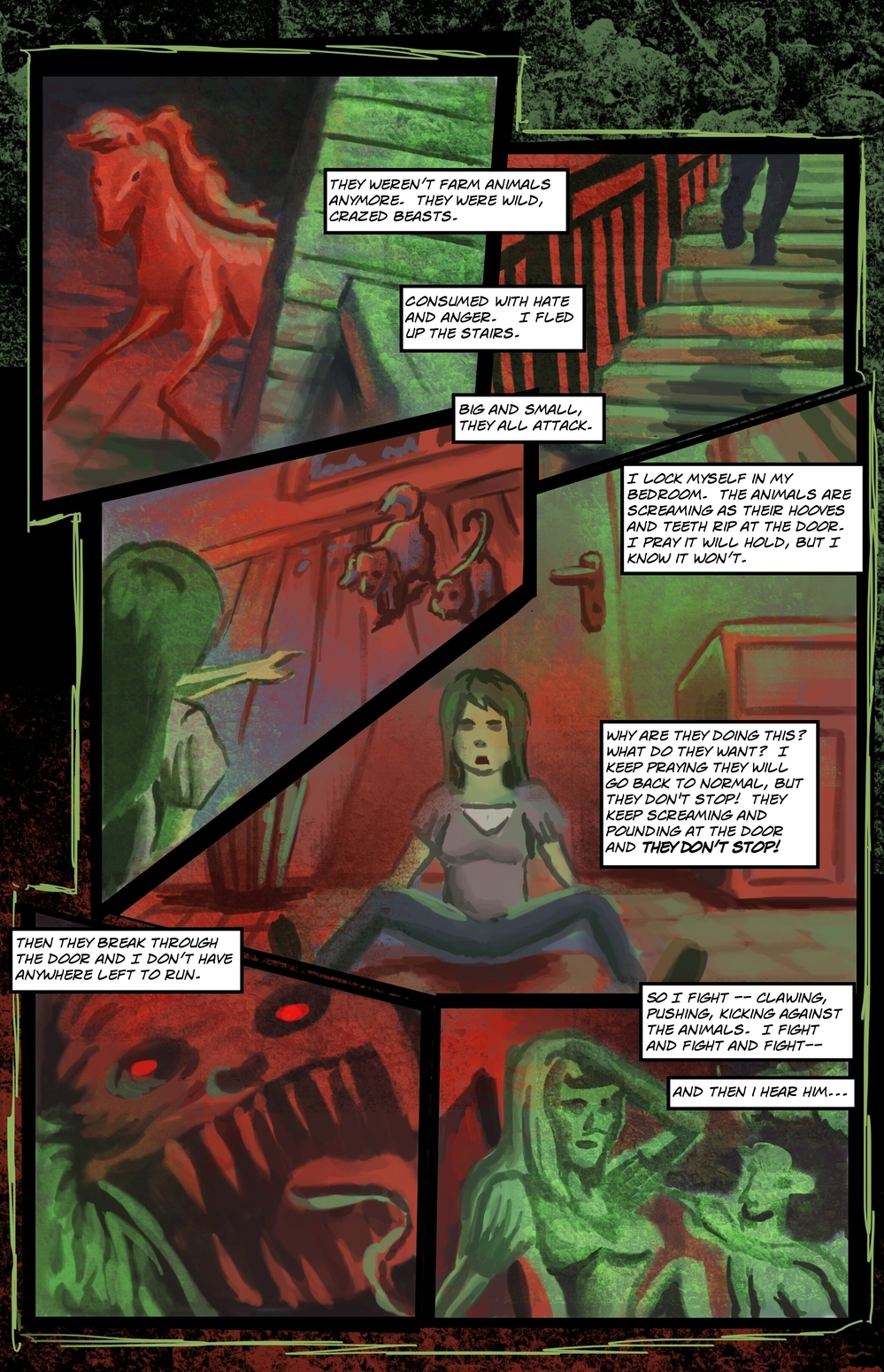 BEASTS page 5 - story 5 in The Book of Lies