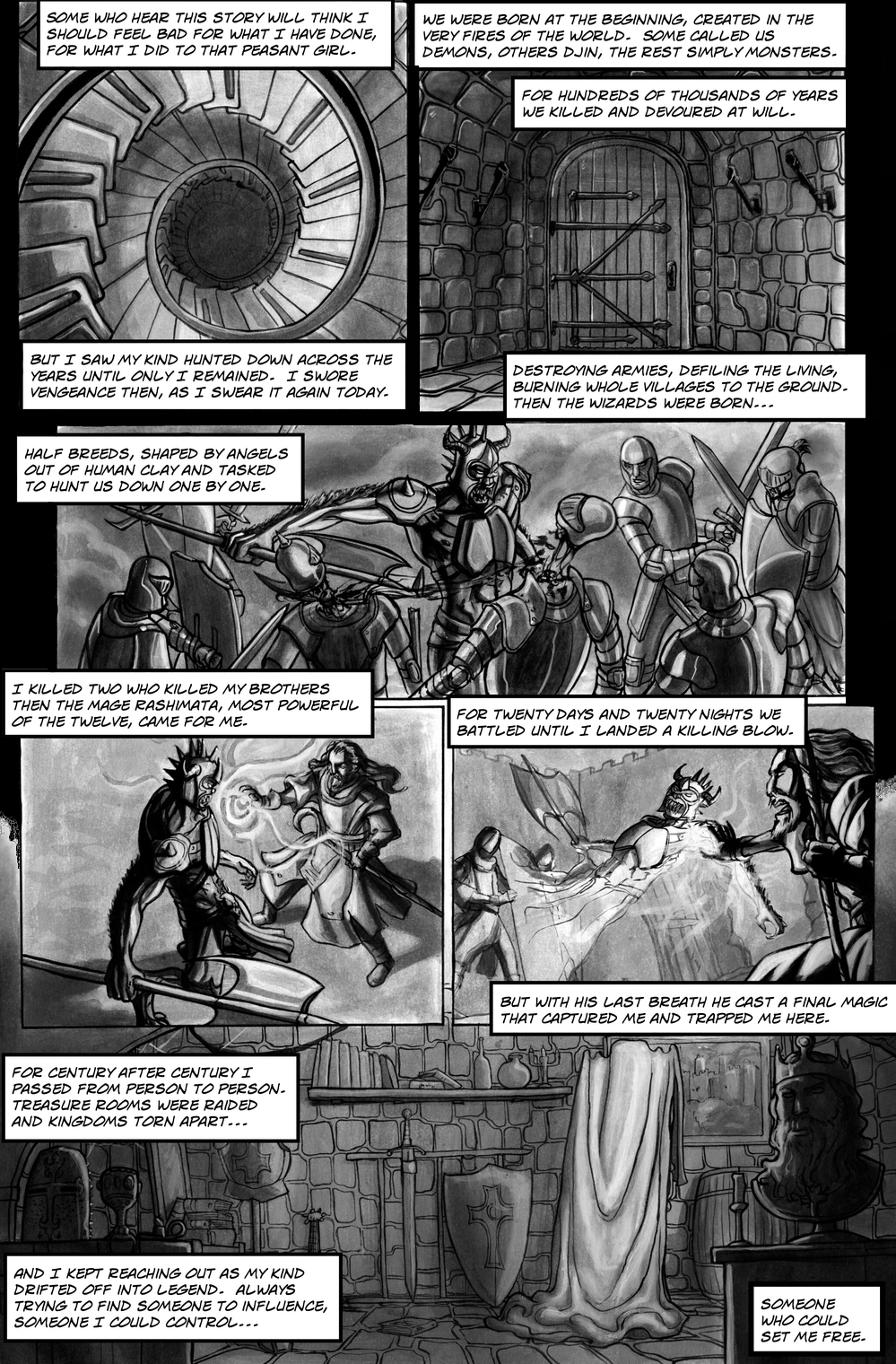 FAIREST page 1 - story 13 in The Book of Lies