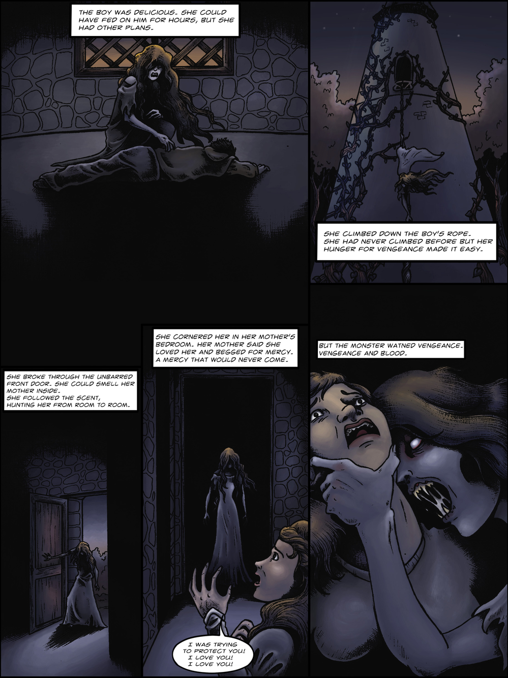 THE TOWER page 6 - story 1 in The Book of Lies
