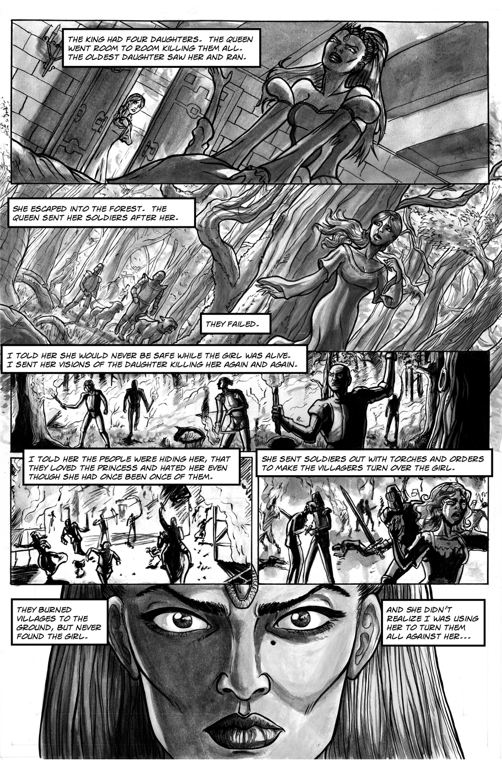 FAIREST page 4 - story 13 in The Book of Lies