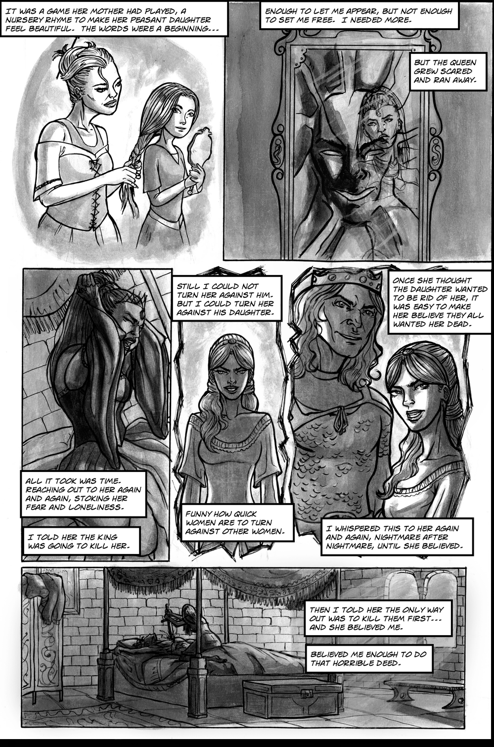 FAIREST page 3 - story 13 in The Book of Lies