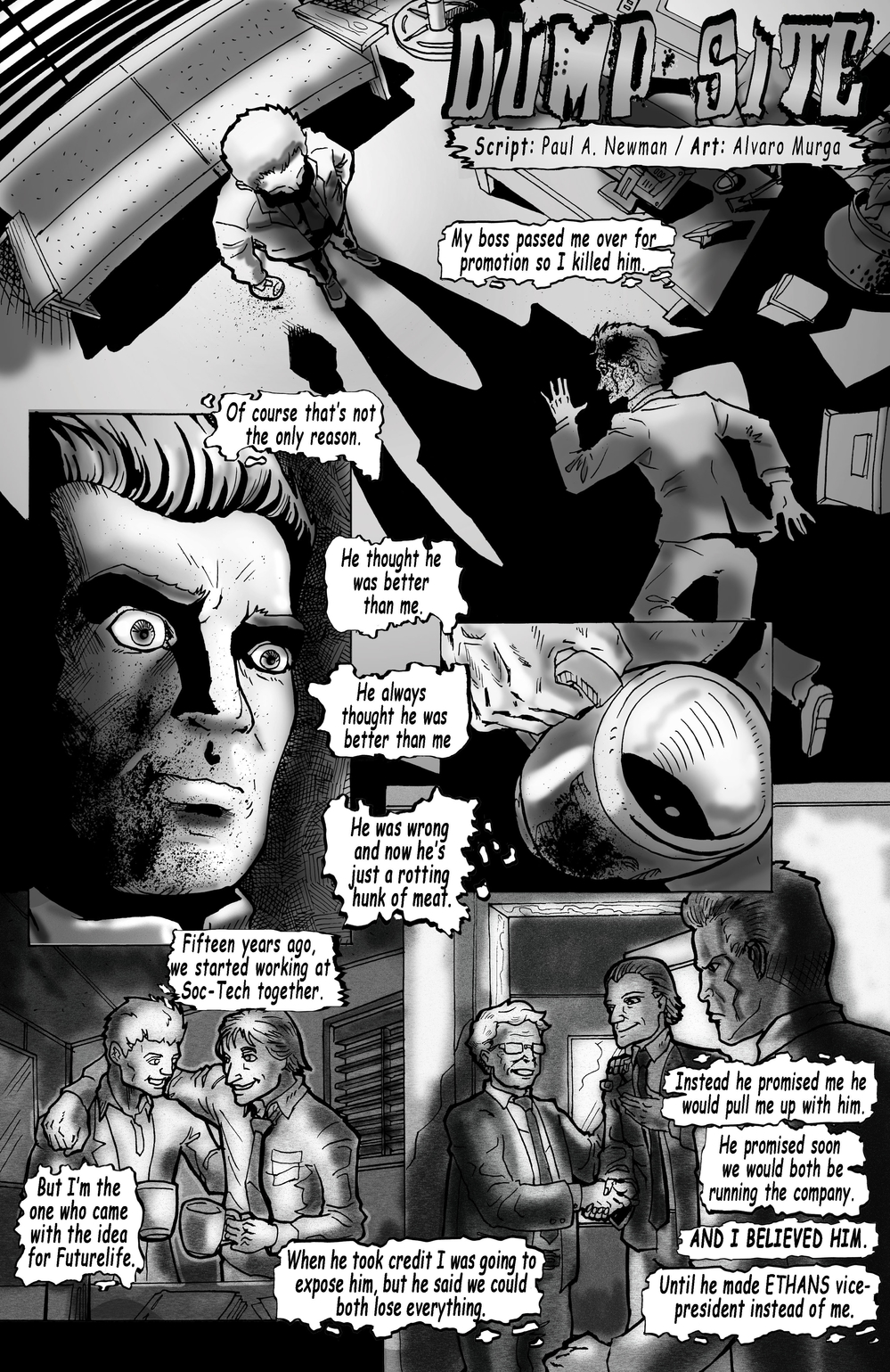 DUMP SITE page 1 - story 21