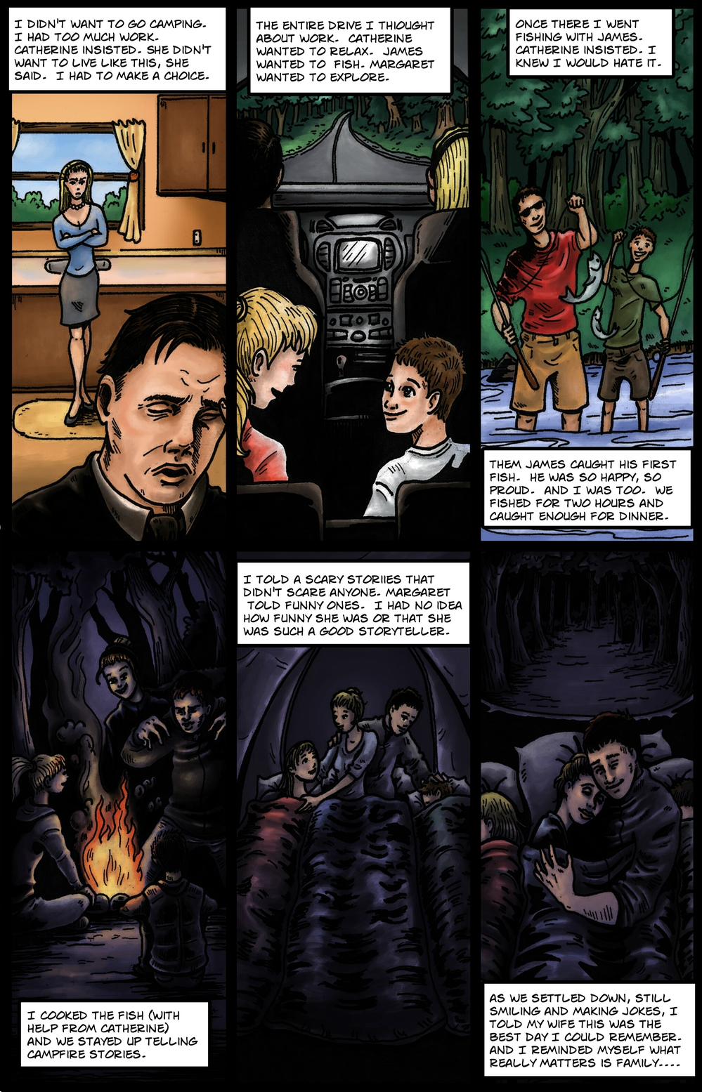COCOON page 2 - story 9 in The Book of Lies