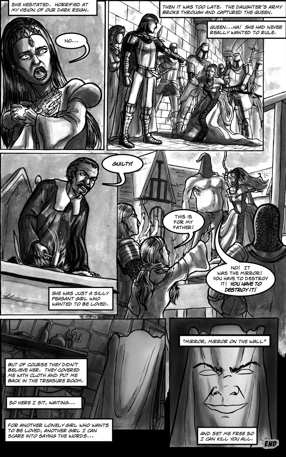 FAIREST page 6 - story 13 in The Book of Lies