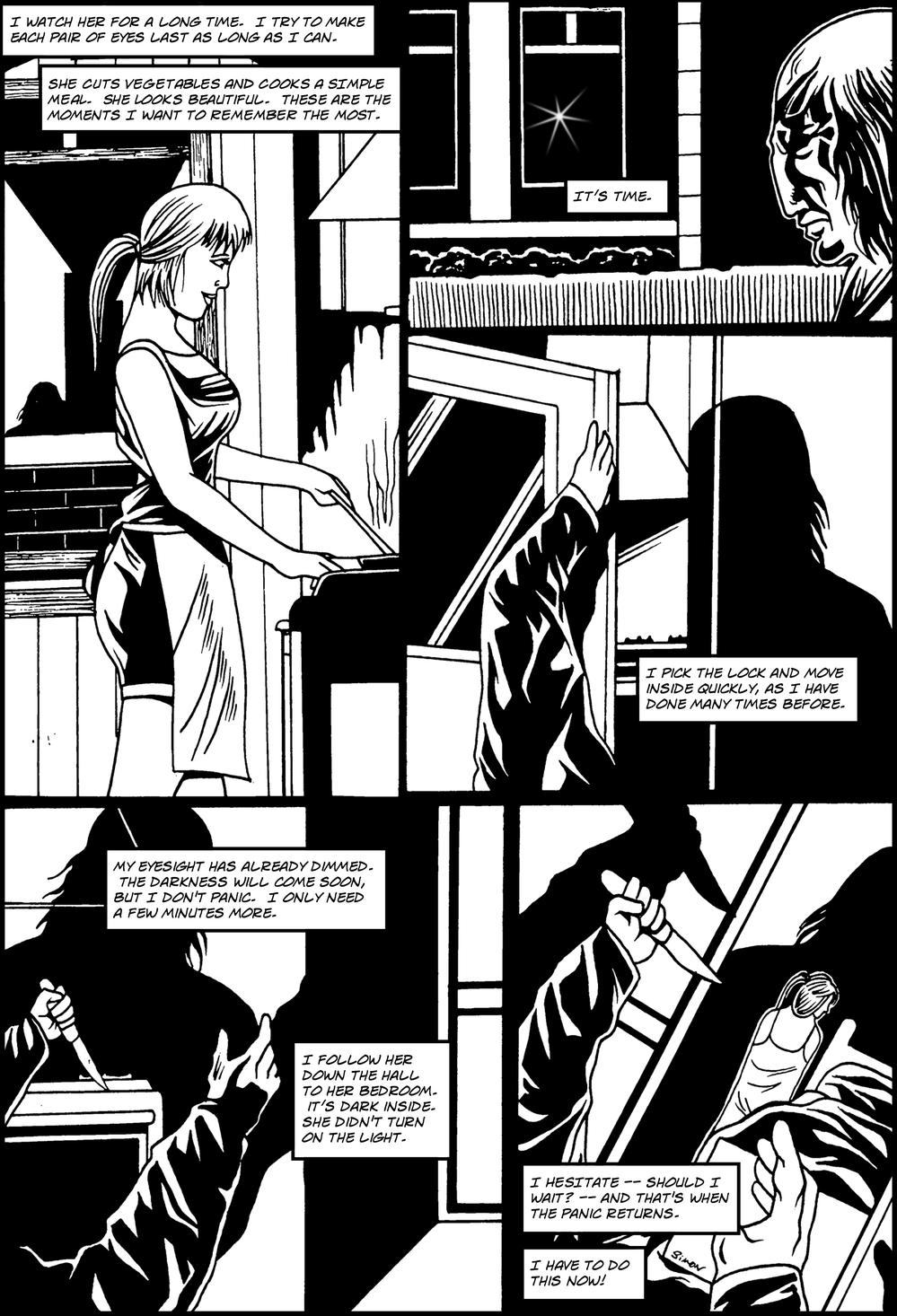 EYES page 5 - story 2 in The Book of Lies