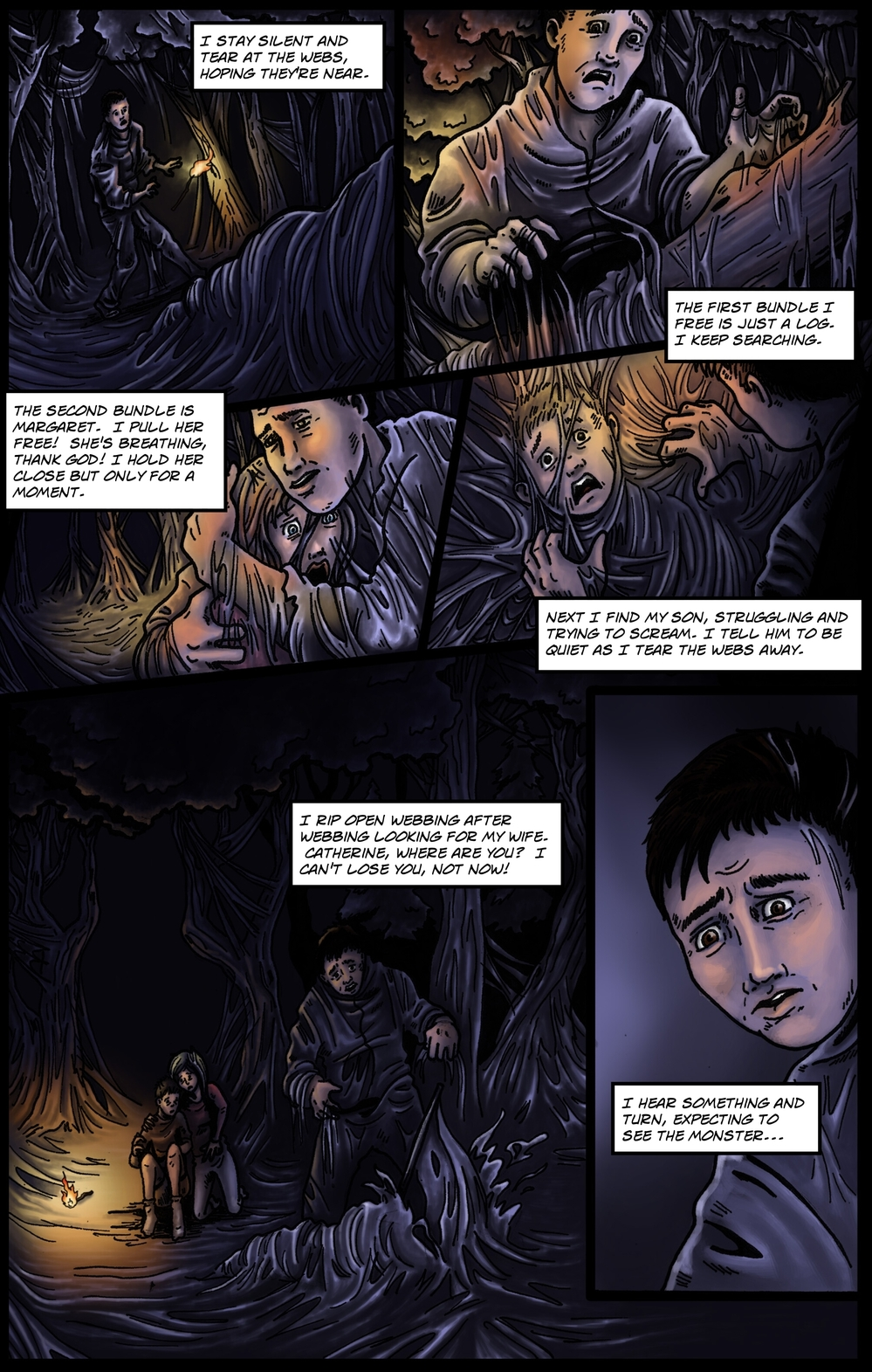 COCOON page 4 - story 9 in The Book of Lies