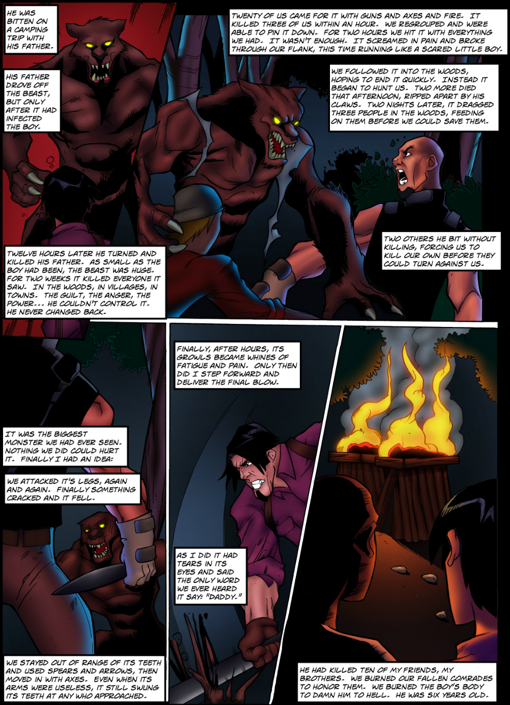 TROPHIES page 6 - story 16