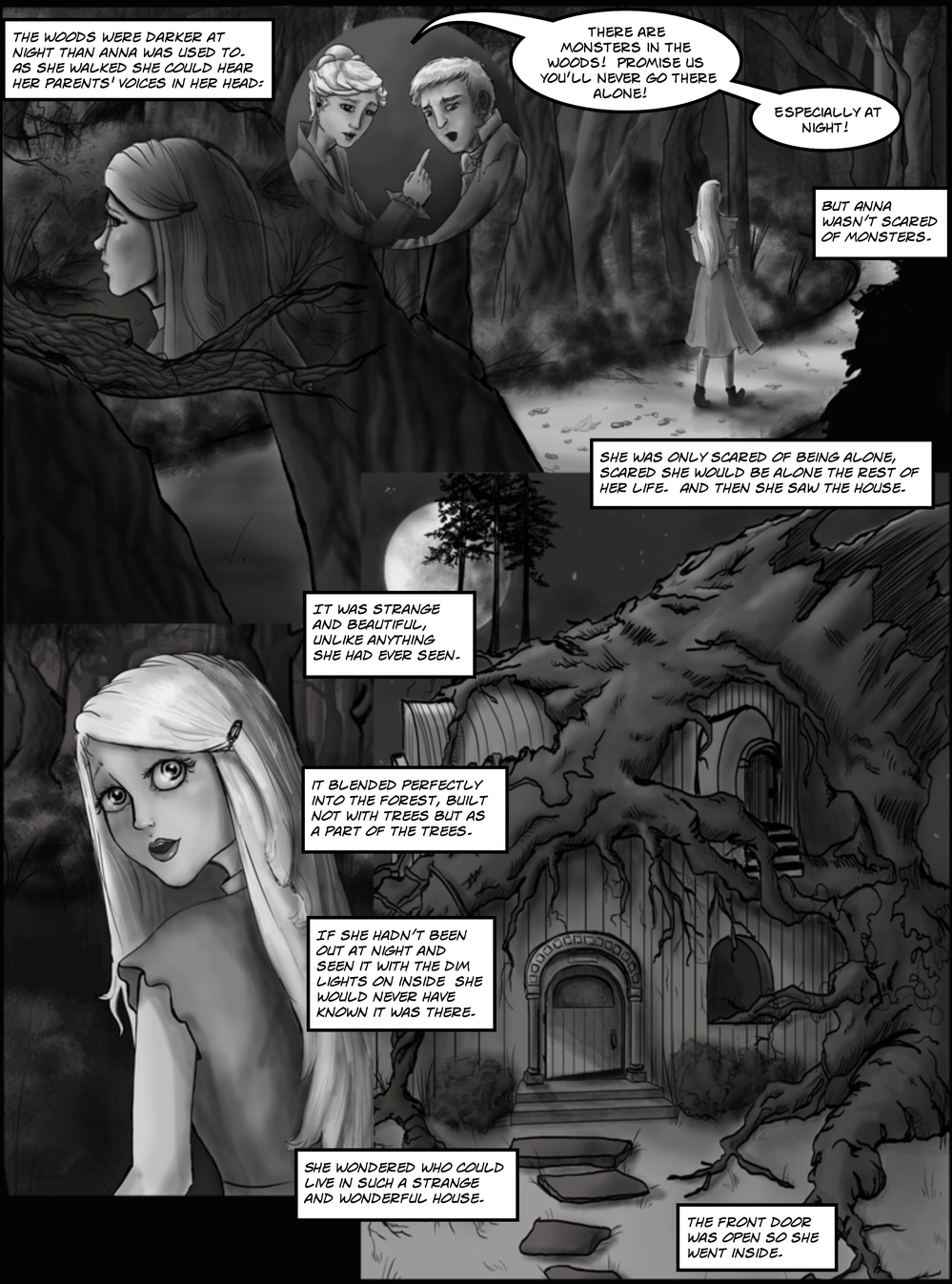 OTHER PEOPLE'S HOUSES page 3 -- in The Book of Lies