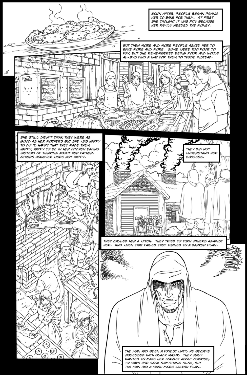SAFE AND HAPPY HOME page 2 - story 7 in The Book of Lies