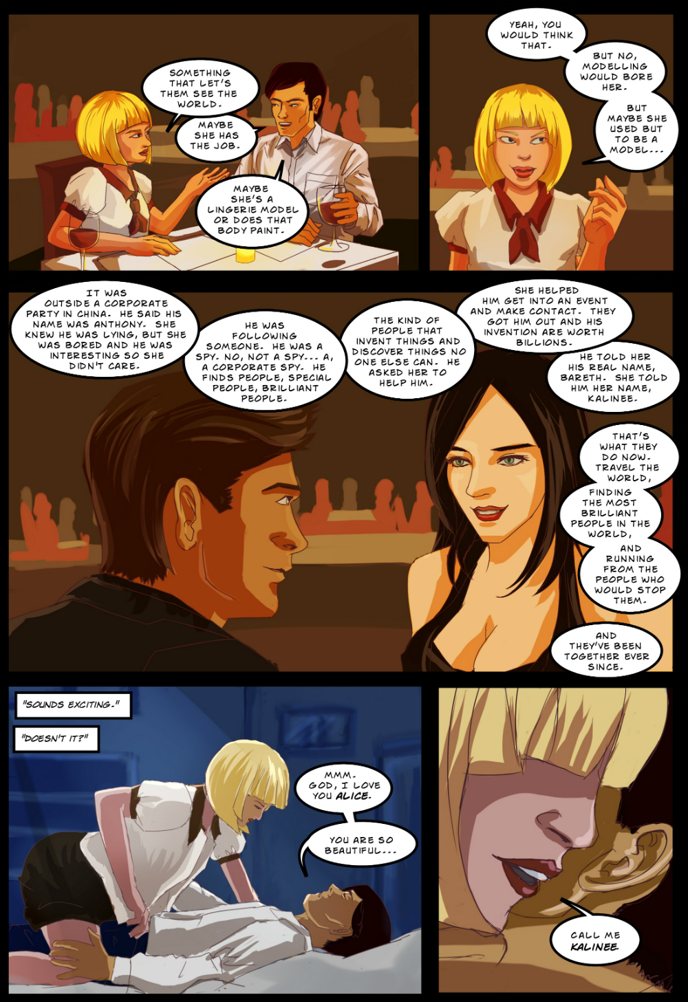 BEING OTHER PEOPLE page 2 -- story 26 in The Book of Lies