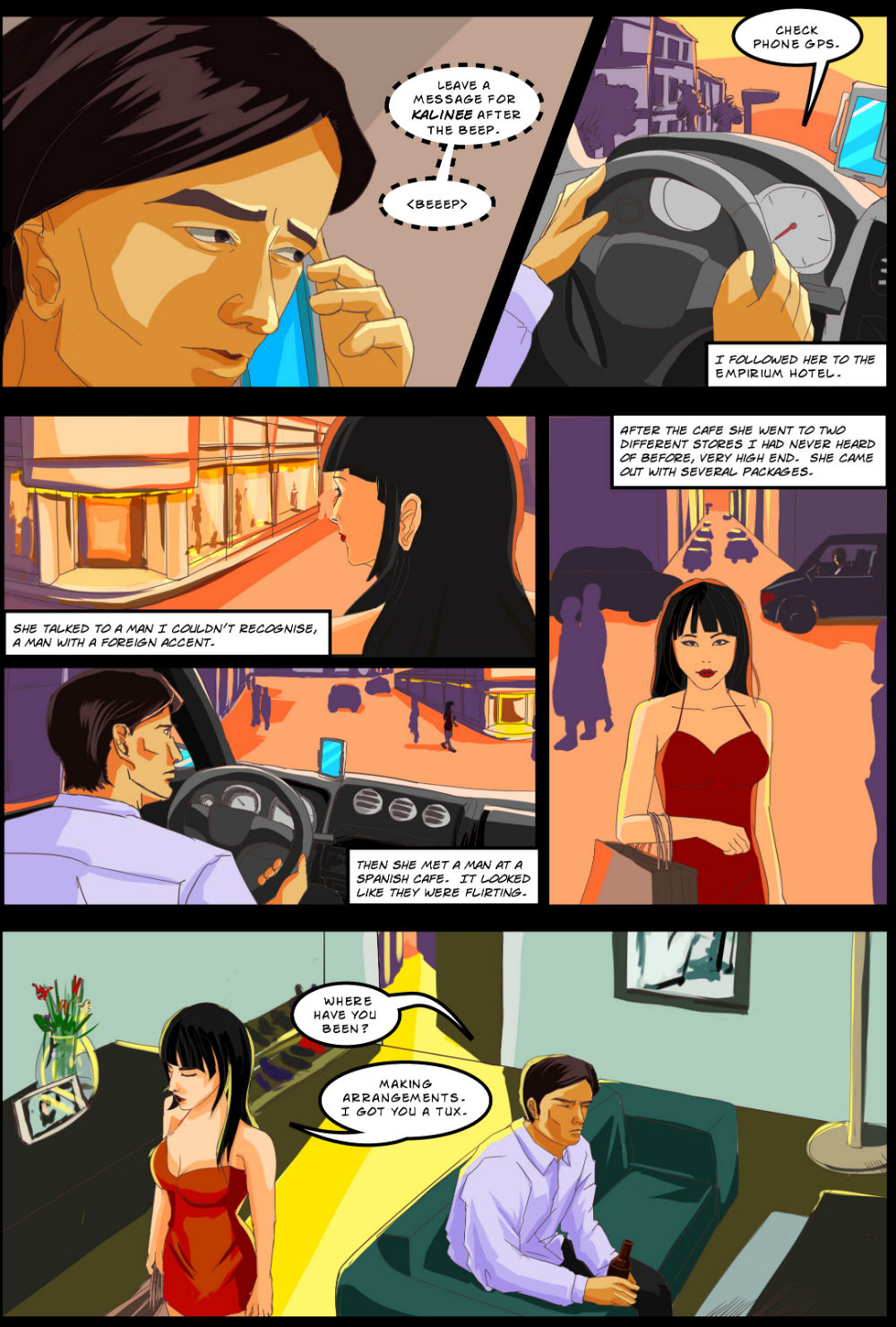 BEING OTHER PEOPLE page 4 -- story 26 in The Book of Lies