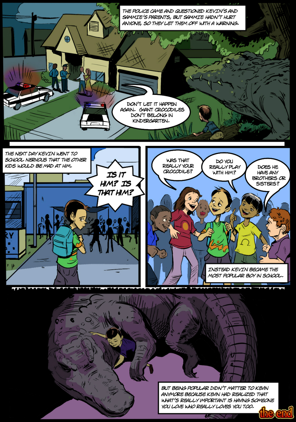 PET CROC page 6 - in The Book of Lies