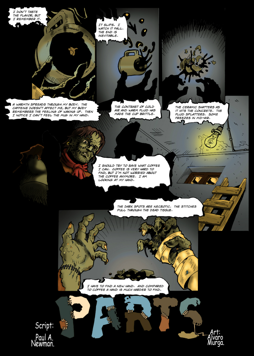 PARTS page 1 -- from THE BOOK OF LIES