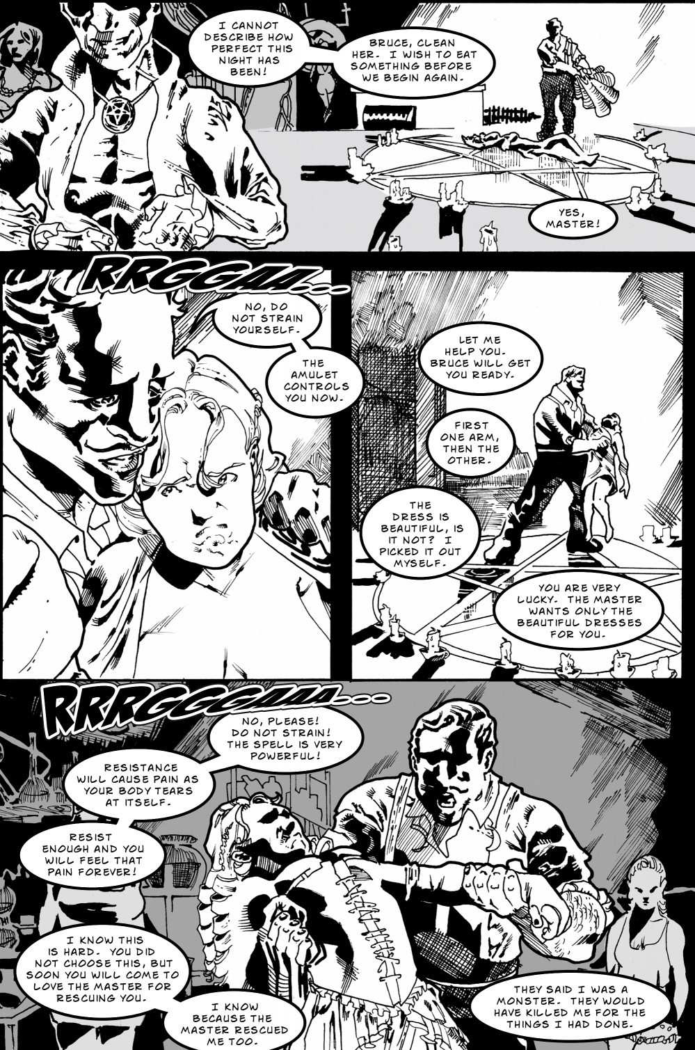 Zombie Love Slave page 5