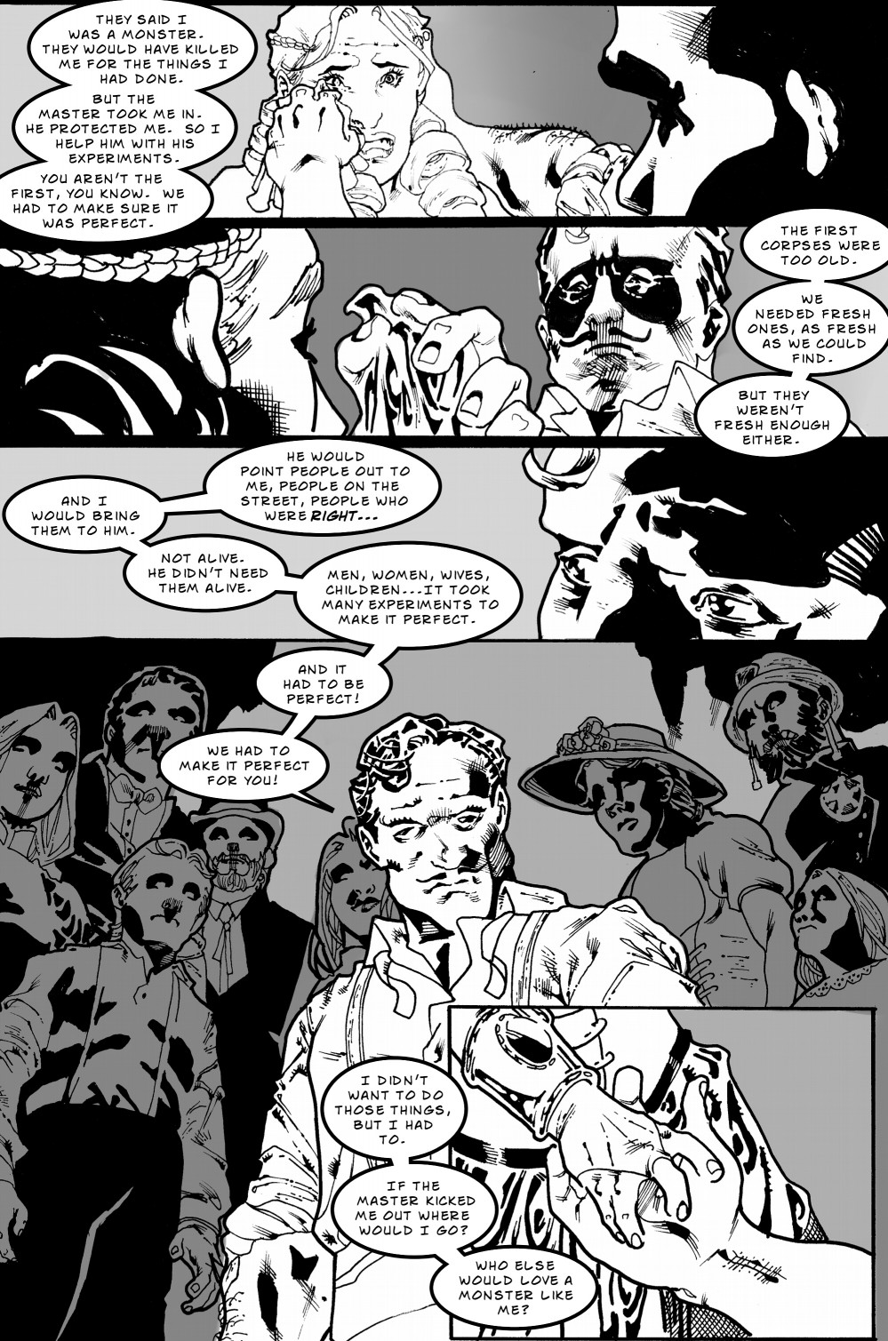 Zombie Love Slave page 6